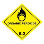 Hazard safety sign - Organic Peroxide 049